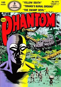 The Phantom (Frew, 1983 series) #1573 — Untitled (Cover)