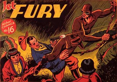 Jet Fury (Pyramid, 1951 series) #16 ([1951?])