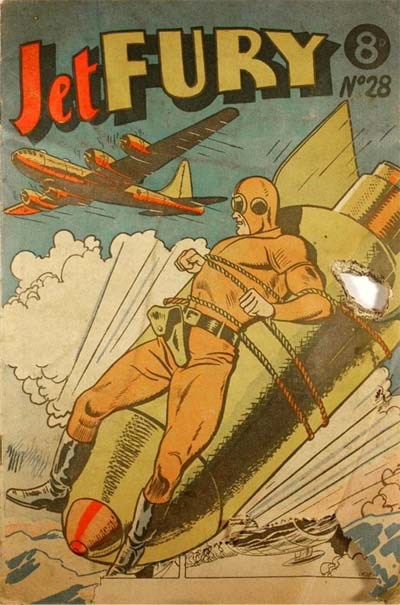 Jet Fury (Pyramid, 1951 series) #28 ([April 1952?])