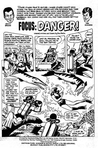 Planet Series 1 (Murray, 1977 series) #9 — Focus: Danger! (page 1)