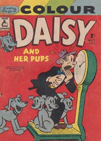 Daisy and her Pups (Magman, 1957 series) #23 (April 1957)