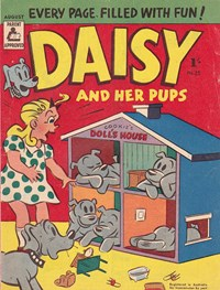 Daisy and her Pups (Magman, 1957 series) #25 (August 1957)