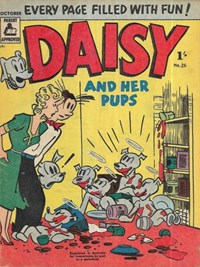 Daisy and her Pups (Magman, 1957 series) #26 (October 1957)