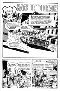 Planet Series 1 (Murray, 1977 series) #9 — Race Unto Death (page 1)