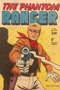 The Phantom Ranger (Frew, 1952 series) #49 ([October 1953?])