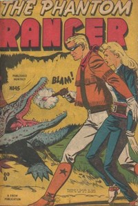 The Phantom Ranger (Frew, 1952 series) #45 ([June 1953?])