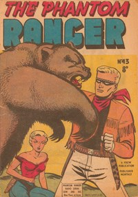 The Phantom Ranger (Frew, 1952 series) #43 ([April 1953?])