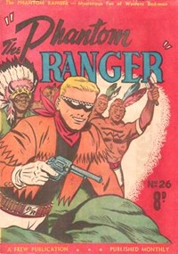 The Phantom Ranger (Western Promotions, 1950 series) #26 ([November 1951?])