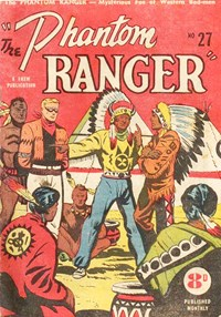 The Phantom Ranger (Western Promotions, 1950 series) #27 ([December 1951?])