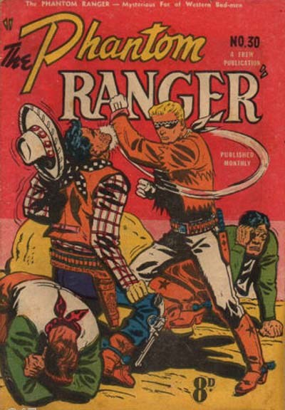 The Phantom Ranger (Frew, 1952 series) #30 ([March 1952?])