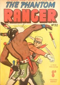 The Phantom Ranger (Frew, 1952 series) #32 ([May 1952?])