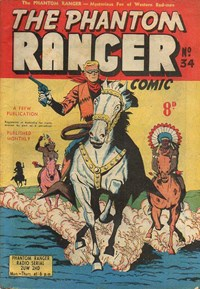 The Phantom Ranger (Frew, 1952 series) #34 ([July 1952?])