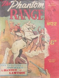 The Phantom Ranger (Western Promotions, 1950 series) #22 ([July 1951?])