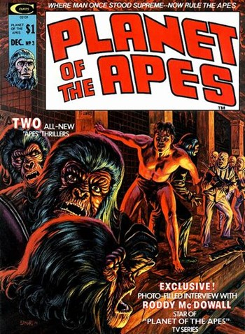 Planet of the Apes (Marvel, 1974 series) #3 (December 1974)