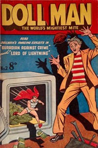 Doll Man the World's Mightiest Mite (Rosnock, 1952? series) #2