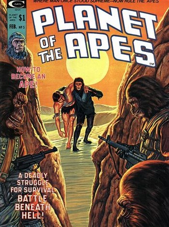 AusReprints - Planet of the Apes (Marvel, 1974 series) #5
