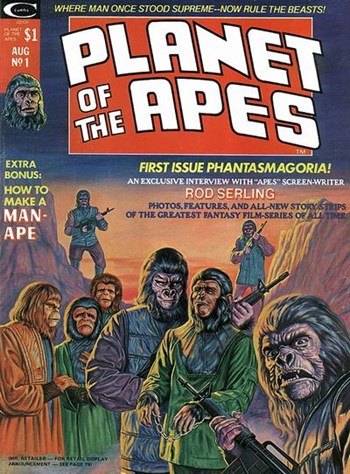 Planet of the Apes (Marvel, 1974 series) #1  (August 1974)
