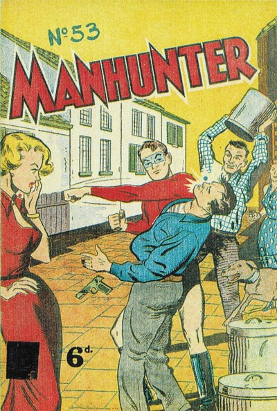 Manhunter (Pyramid, 1951? series) #53 (1951)