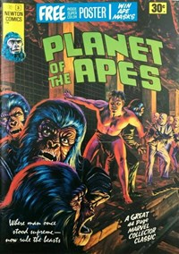 Planet of the Apes (Newton, 1975 series) #3 — No title recorded (Cover)