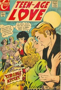Teen-Age Love (Charlton, 1958 series) #72 (September 1970)