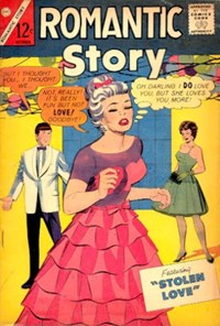 Romantic Story (Charlton, 1954 series) #79 — Stolen Love