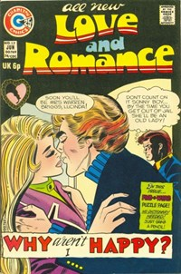 Love and Romance (Charlton, 1971 series) #17 — Why Aren't I Happy?