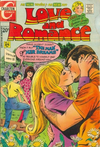 Love and Romance (Charlton, 1971 series) #5 (April 1972)