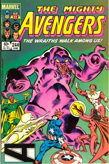 The Avengers (Marvel, 1963 series) #244 (June 1984)