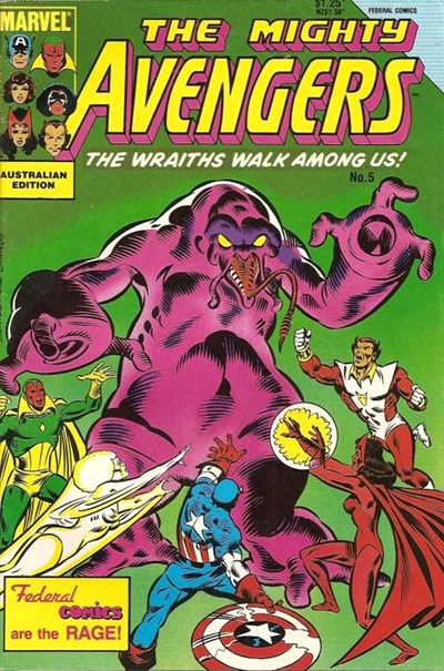 The Mighty Avengers (Federal, 1985 series) #5 ([April 1986?])