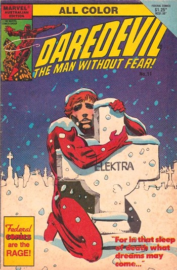 Daredevil the Man Without Fear! (Federal, 1984? series) #11 ([1985?])