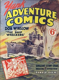 Yank Adventure Comics (Ayers & James, 1940s series)  ([1945?])