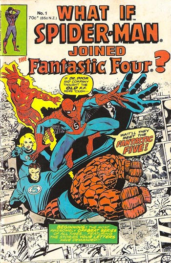 What If Spider-Man Joined the Fantastic Four? (Yaffa/Page, 1977 series) #1 (1977)