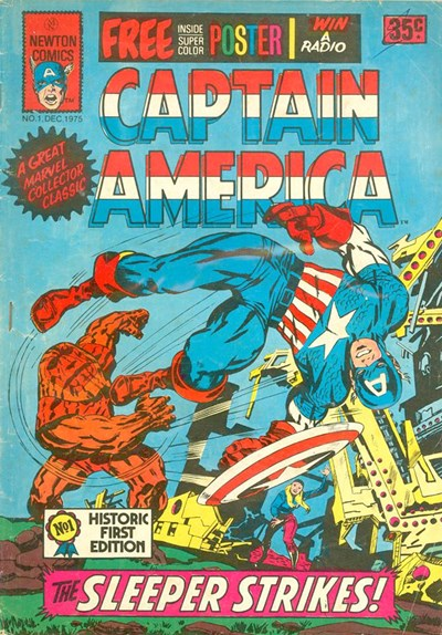 Captain America (Newton, 1975 series) #1 (December 1975)