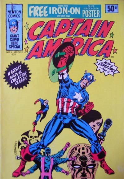 Captain America (Newton, 1975 series) #4 (March 1976)