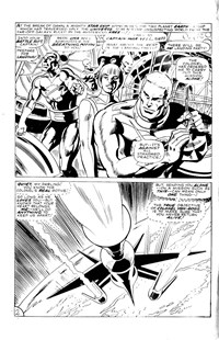 Marvel Super-Heroes Featuring: Captain Marvel (Yaffa/Page, 1982 series) #1 — Untitled (page 1)