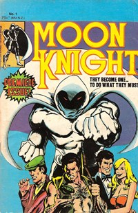 Moon Knight (Yaffa/Page, 1980? series) #1 — Untitled (Cover)