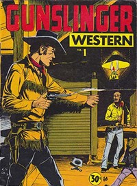Gunslinger Western (Yaffa/Page, 1974 series) #1 — No title recorded
