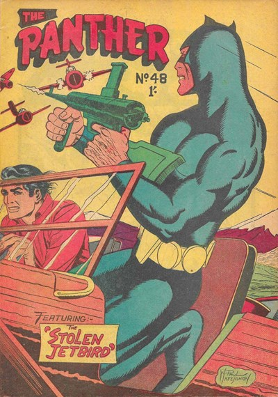 The Panther (Youngs, 1957 series) #48 ([April 1961?])