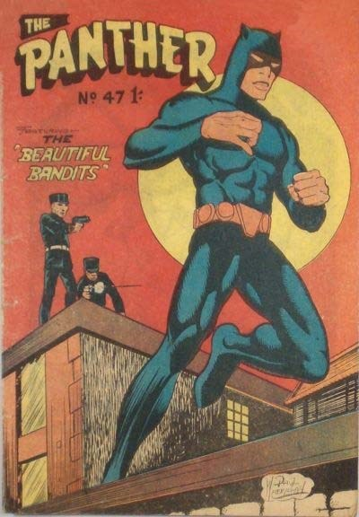 The Panther (Youngs, 1957 series) #47 ([March 1961?])