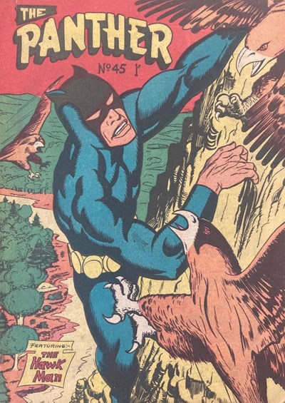 The Panther (Youngs, 1957 series) #45 ([January 1961?])