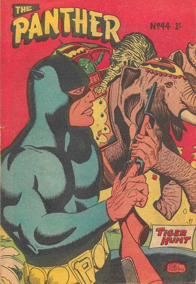 The Panther (Youngs, 1957 series) #44 ([December 1960?])