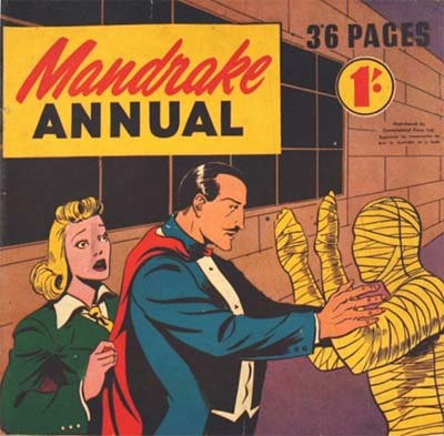 Mandrake Annual (Consolidated Press, 1951 series) #1951 ([1951?])