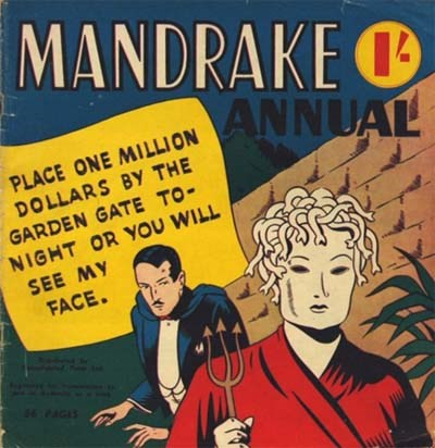 Mandrake Annual (Consolidated Press, 1951 series) #1953 ([1953?])