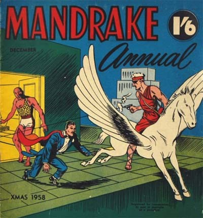 Mandrake Annual (Shakespeare Head, 1954 series) #1958 (December 1958)