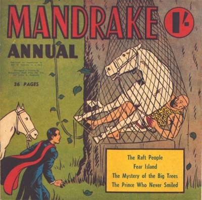 Mandrake Annual (Shakespeare Head, 1954 series) #1954 ([1954?])
