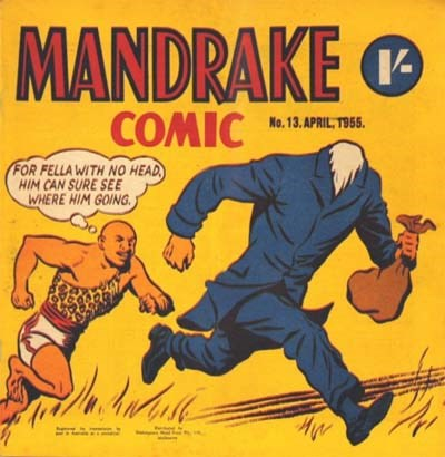 Mandrake Comic (Shakespeare Head, 1955 series) #13 (April 1955)