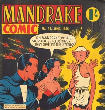 Mandrake Comic (Shakespeare Head, 1955 series) #14 (June 1955)