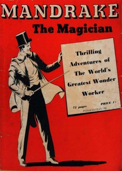 Mandrake the Magician (Consolidated Press, 1938 series)  (October 1938)