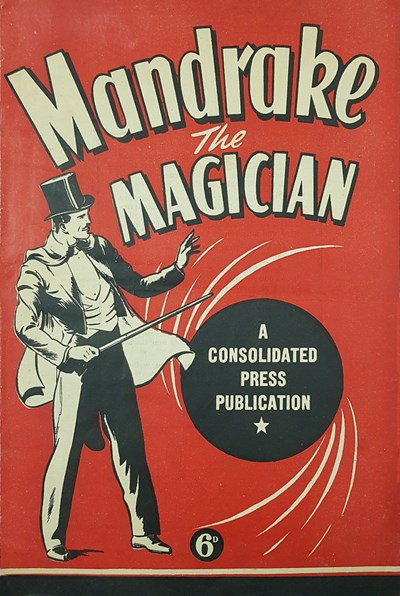 Mandrake the Magician (Consolidated Press, 1938 series) #nn [3] ([1945?])