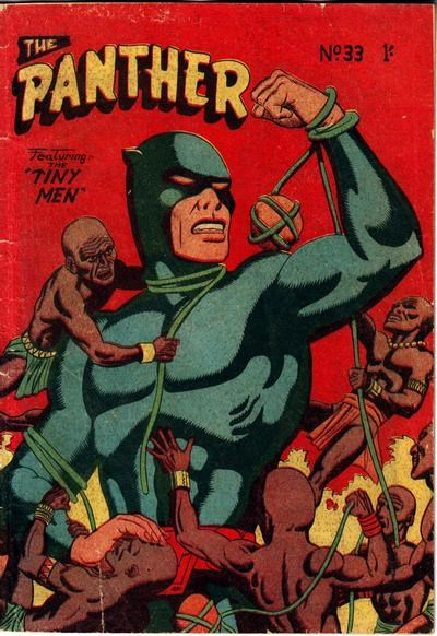 The Panther (Youngs, 1957 series) #33 ([January 1960?])